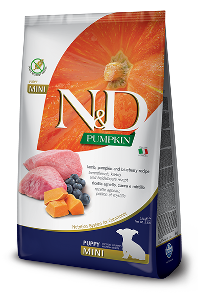 N&D LAMB & BLUEBERRY PUPPY MINI 5.5LB