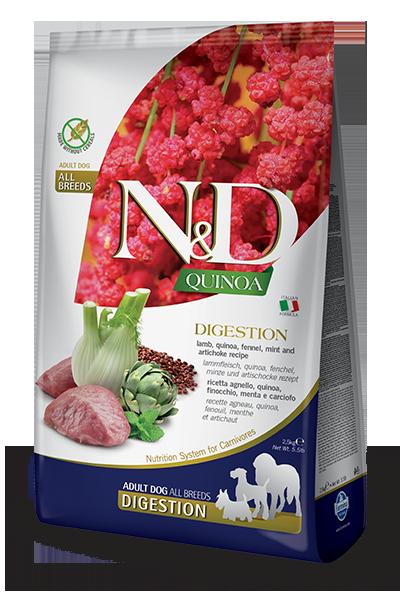 N&D QUINOA FUNCTIONAL CANINE - DIGESTION LAMB 15.4LB