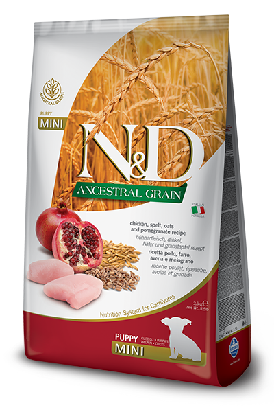 N&D ANCESTRAL GRAIN - CHICKEN & POMEGRANATE PUPPY MAXI 5.5LB