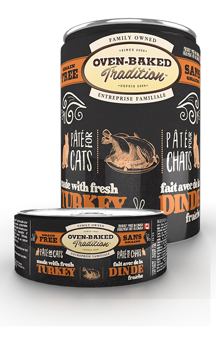 OBT TURKEY PATE CANNED CAT FOOD - 5.5oz