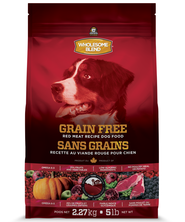 WHOLESOME BLEND LID GRAIN FREE - RED MEAT 11.36KG