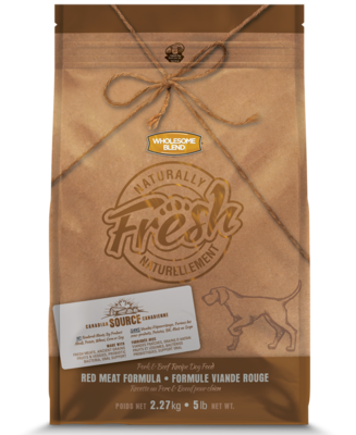 WHOLESOME BLEND NATURALLY FRESH PORK & BEEF 2.27KG