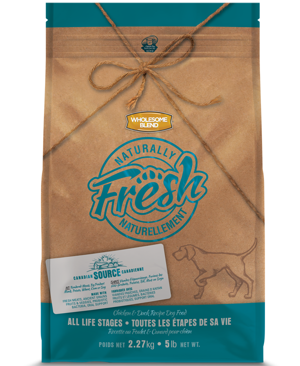 WHOLESOME BLEND NATURALLY FRESH CHICKEN & DUCK 13KG