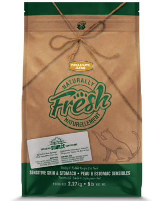 WHOLESOME BLEND NATURALLY FRESH CAT - TURKEY & RABBIT 2.27KG