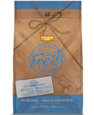 WHOLESOME BLEND NATURALLY FRESH CAT - CHICKEN & DUCK 5KG