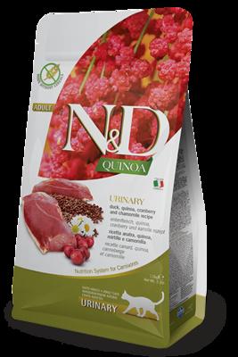 N&D CAT URINARY DUCK & QUINOA 3.3LB