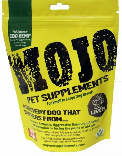 Mojo CBD Liver Treats 60g