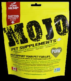Mojo Pork Treats 222g