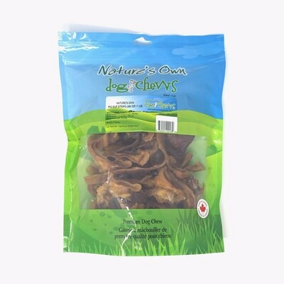 Nature's Own Pig Ear Strips 1lb