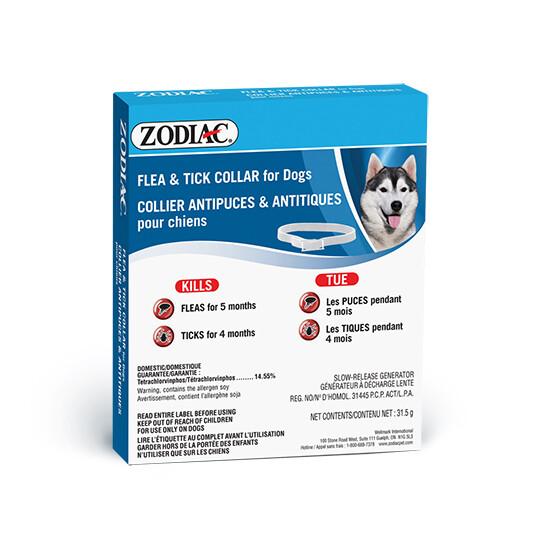 ZODIAC FLEA & TICK COLLAR FOR DOGS