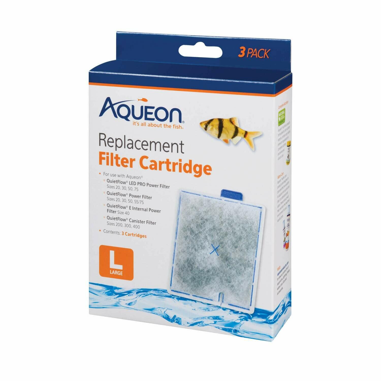 AQUEON REPLACEMENT FILTER CARTRIDGE - LARGE 3PK