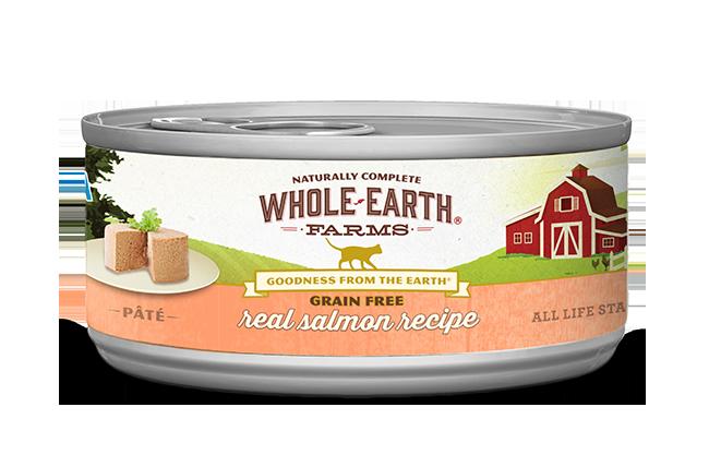 WHOLE EARTH FARMS CAT - GRAIN FREE SALMON 5.5OZ