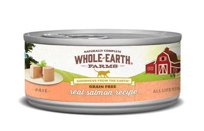 WHOLE EARTH FARMS CAT - GRAIN FREE SALMON 5.5OZ