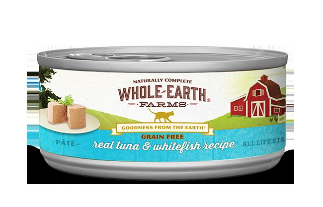 WHOLE EARTH FARMS CAT - GRAIN FREE TUNA & WHITEFISH 5.5OZ