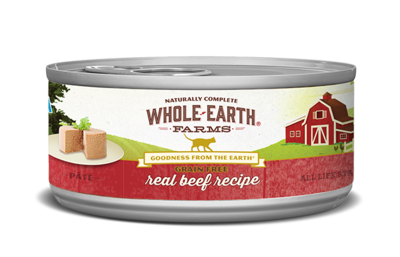 WHOLE EARTH FARMS CAT - GRAIN FREE BEEF 5.5OZ
