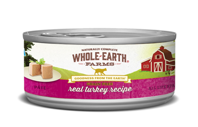 WHOLE EARTH FARMS CAT - GRAIN FREE TURKEY 5.5OZ