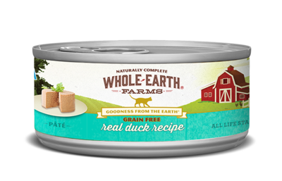 WHOLE EARTH FARMS CAT - GRAIN FREE DUCK 5.5OZ