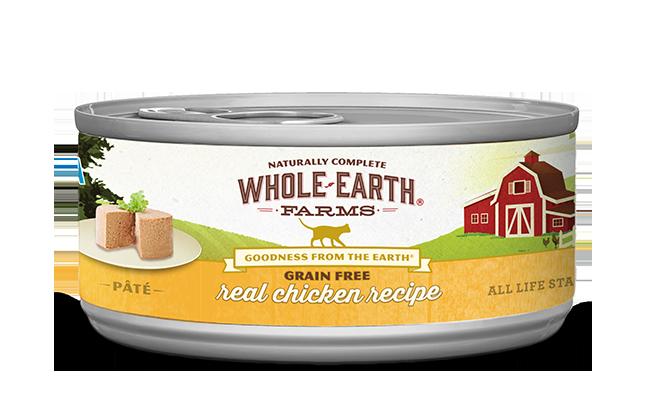WHOLE EARTH FARMS CAT - GRAIN FREE CHICKEN 5.5OZ