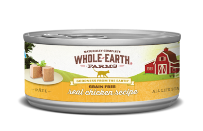 WHOLE EARTH FARMS CAT - GRAIN FREE CHICKEN 5.5OZ