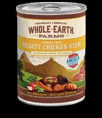 WHOLE EARTH FARMS - GRAIN FREE HEARTY CHICKEN STEW 12.7OZ