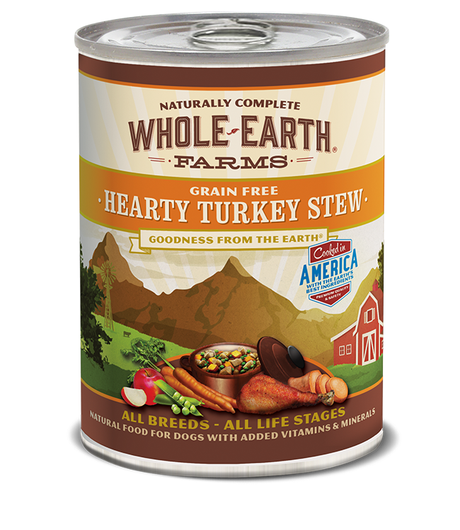 WHOLE EARTH FARMS - GRAIN FREE HEARTY TURKEY STEW 12.7OZ
