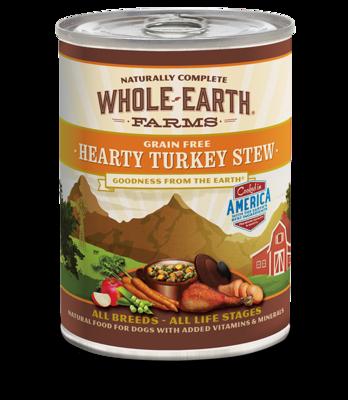 WHOLE EARTH FARMS - GRAIN FREE HEARTY TURKEY STEW 12.7OZ