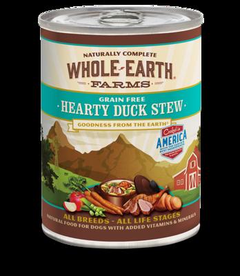 WHOLE EARTH FARMS - GRAIN FREE HEARTY DUCK STEW 12.7OZ