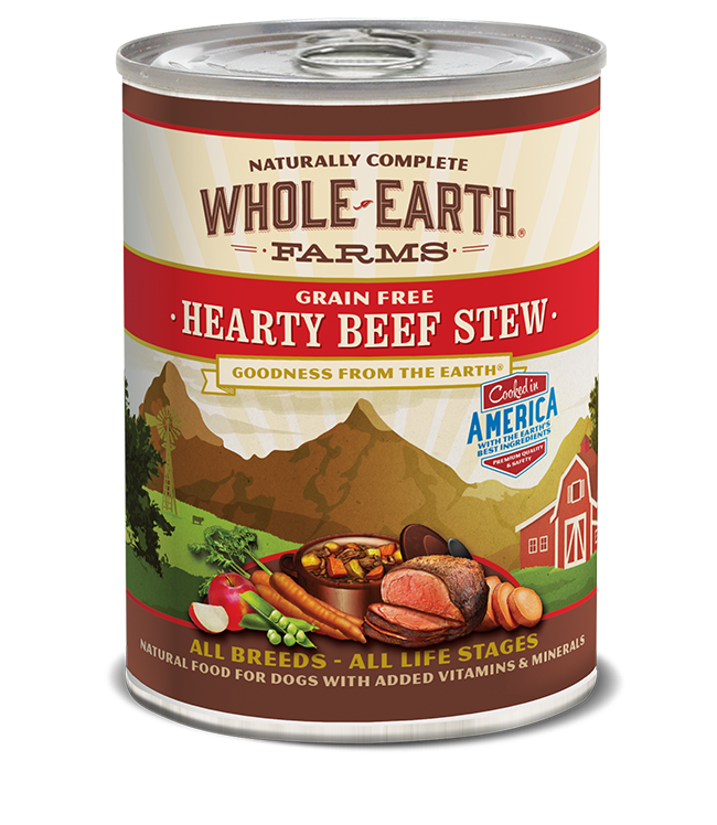 WHOLE EARTH FARMS - GRAIN FREE HEARTY BEEF STEW 12.7OZ