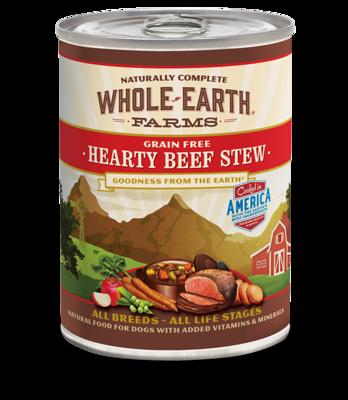 WHOLE EARTH FARMS - GRAIN FREE HEARTY BEEF STEW 12.7OZ