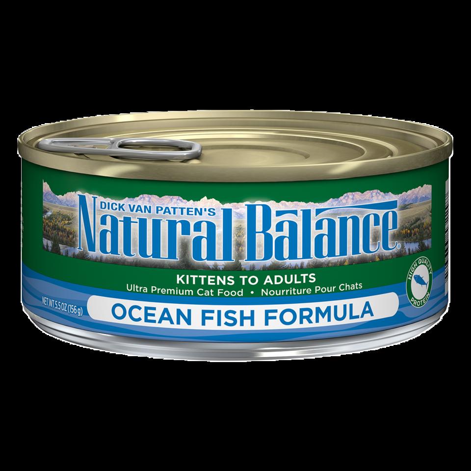 NATURAL BALANCE CAT OCEAN FISH PATE 5.5OZ