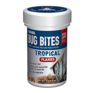 FLUVAL BUG BITES FLAKES - TROPICAL 18g