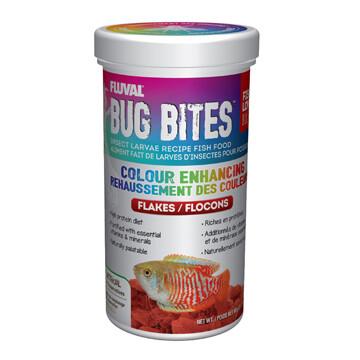 FLUVAL BUG BITES FLAKES - COLOUR ENHANCING 90g