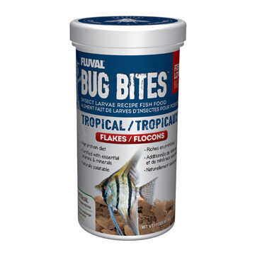 FLUVAL BUG BITES FLAKES - TROPICAL 90g