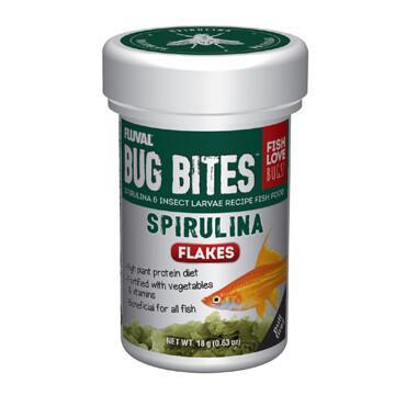 FLUVAL BUG BITES FLAKES - SPIRULINA 18g