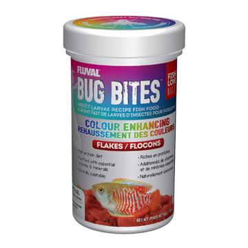FLUVAL BUG BITES FLAKES - COLOUR ENHANCING 45g