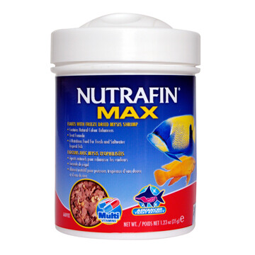 NUTRAFIN MAX FLAKES + FREEZE DRIED MYSIS SHRIMP 35g