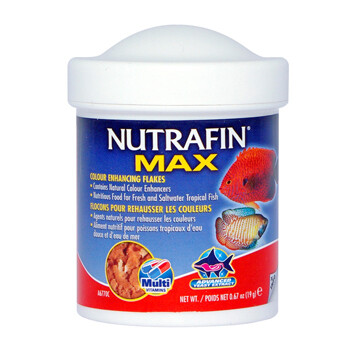 NUTRAFIN MAX COLOUR ENHANCING FLAKES 19g