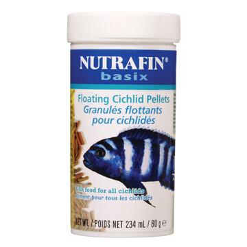 NUTRAFIN basix FLOATING CICHLID PELLETS 80g