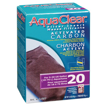 AquaClear 20 Activated Carbon Filter Insert