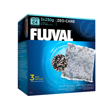 FLUVAL ZEO-CARB FOR C4 POWER FILTERS 3PK