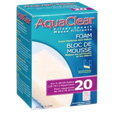 AquaClear 20 Foam Filter Insert