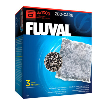 FLUVAL ZEO-CARB FOR C3 POWER FILTERS - 3PK