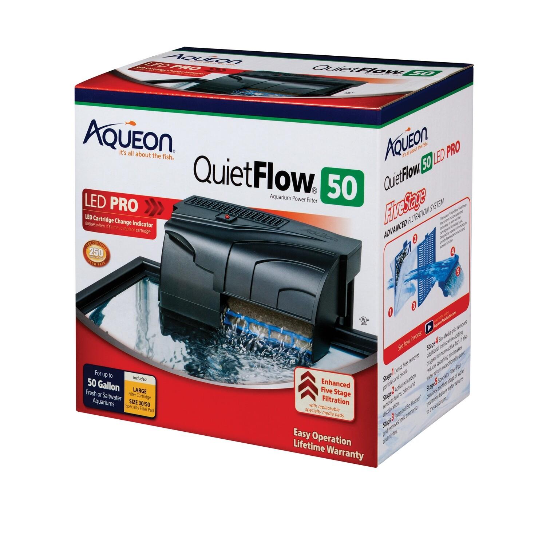 Aqueon QuietFlow LED Pro 50 Power Filter