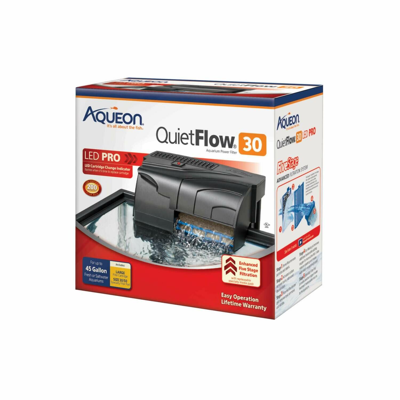 Aqueon QuietFlow LED Pro 30 Power Filter