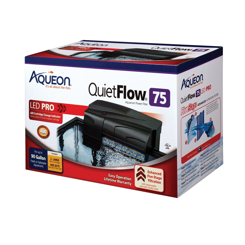 Aqueon QuietFlow LED Pro 75 Power Filter