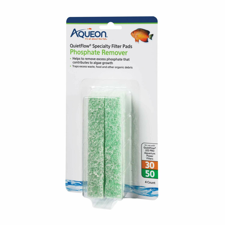 Aqueon QuietFlow Specialty Pad Phosphate 30/50