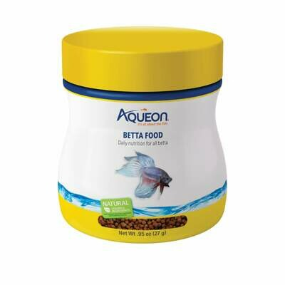 Aqueon Betta Food 0.95oz