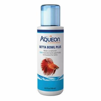 Aqueon Betta Bowl Plus Water Conditioner 4oz