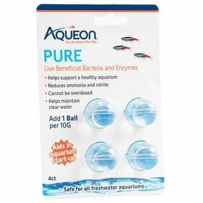 Aqueon Pure Water Supplement 10 Gallon 4PK