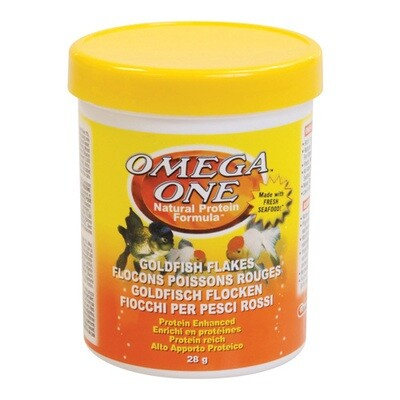 OMEGA ONE GOLDFISH FLAKE 1OZ